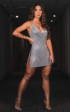 Sexy Outfits, Sexy Dresses, Short Dresses, Girl Outfits, Fashion Outfits, Curvy Women Fashion, Look Fashion, Hottest Female Celebrities, Look Girl