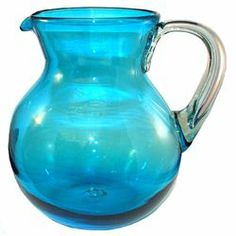 blue pitcher from Bambeco