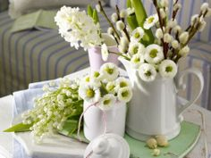Use Tableware As Planters And Flower Vases