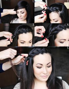 DIY Side Braid