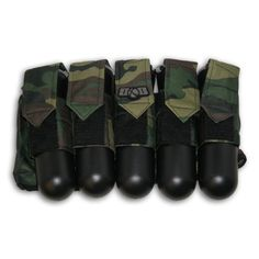 Paintball 5 Tubes 140 round Pods Ball Hauler Slam Pack Harness Woodland Camo woodsball scenario by I & I Sports. $8.99. Woodland camouflage pack with all the features of the most expensive models! Features 5 open pod slam pockets. Capable of carrying 100 or 140 round tubes! TUBES ARE NOT INCLUDED!! Fully adjustable reinforced waist belt and durable construction throughout. Waist size fully adjustable from 25-48 inches.