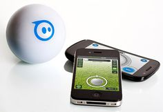 Sphero the Robotic Ball  If your own two aren't providing enough entertainment, the wild and crazy Robotic Ball could curb your ball playing jones. Controlled by your smart phone, this product is what the name suggests, a ball that does what you want it to. Unlike the others that are extremely fragile, this one will stand up to all-day play.