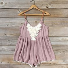 Braided Desert Romper, Sweet Affordable Rompers & Dresses from Spool 72. | Spool No.72