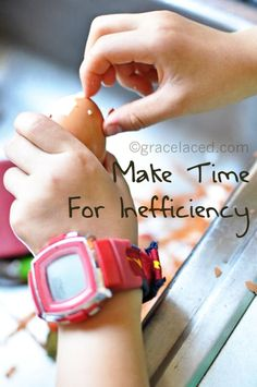 Make time to include little hands and little hearts | GraceLaced