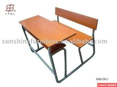 School Classroom Furniture Student Desk And Chair / China School Sets For  Sale