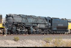 RailPictures.Net Photo: UP 4014 Union Pacific Steam 4-8-8-4 at Nipton, California by Ryan Schmelzer