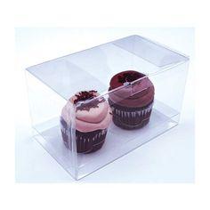 Double Cupcake Packaging Box Set - Two Standard Cupcakes [CBS174] Wedding Supplies Wholesale, Diy Wedding Supplies, Diy Party Supplies, Cupcake Display, Cupcake Boxes, Box Cake, Cupcake Ideas, Cupcake Packaging, Pie Box