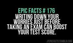 Exams, please be nice! | via Tumblr