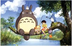 Mon voisin Totoro (1988) : Ce gros bonhomme deviendra la mascotte des Studios Ghibli