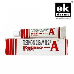 Retino-A 0.05% (made by Jannsen, Johnson&Johnson) is created to treat acne, also flawlessly used to reduce and gradually remove the appearance of wrinkles & age spots, the roughness of facial skin while also facilitating the disappearance of darker and lighter spots. Tretinoin must be used with a total skin care and sunlight avoidance program. It is one of a family of gels called Retinoids, and is effective in preventing pimples and healing existing pimples.