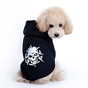 Cool Style Skull and Star Pattern Pet Hoodies... – USD $ 9.59