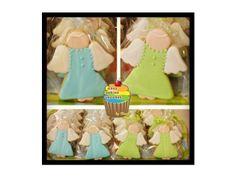 ANGEL COOKIES Angel Cookies, Cake Cookies, Cakes, Baby, Ideas, Decorating Cakes, Cake Makers, Kuchen, Cake