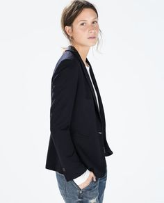 BLAZER WITH PIPING