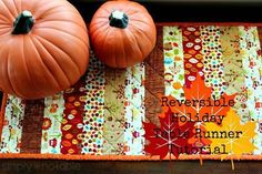 DIY Thanksgiving Placemats and Table Runners | Create Whimsy