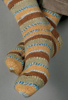 Unicorn Pattern: Basic Dress Socks - Complimentary Knitting Pattern