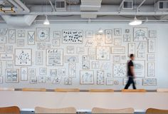 Airbnb Culture Wall by Gensler Architects and Interior Design Fair