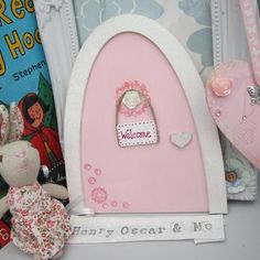 Product   Fairy Door (Large)   Henry, Oscar and Me Handmade Crafts, Fairy, Doors, Home Crafts, Faeries, Water Crafts, Handmade Cards, Crafts, Gate