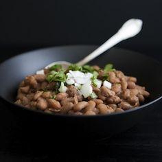 Frijoles de Olla (Mexican Beans) - minus the bacon.