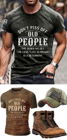 Free Shipping over $89! Explore the latest style of men's fashion t-shirts outfits. #tee #summer #fashion #casual #outfits Summer Outfits, Casual Outfits, Shirt Outfit, T Shirt, Men's Fashion, Explore, Free Shipping, Tees, Mens Tops