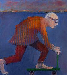 Mel McCuddin, Second Childhood oil on canvas