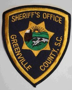 Greenville county Sheriff SC