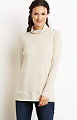 petite perfect pima cotton easy turtleneck from J.Jill