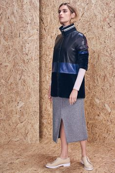 Skirt and flats for Autumn '2015