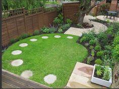 interlocking square garden design - Google Search