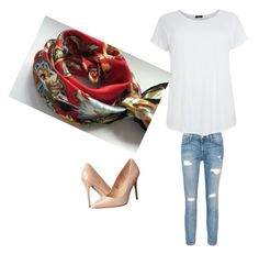 """Untitled #1"" by vendas-iii on Polyvore featuring Current/Elliott, Madden Girl, casual and look"