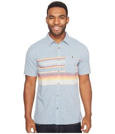 Vans Wensley Short Sleeve Woven- can we take the pocket off? Anthony.