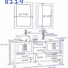 Standard Height For Bathroom Vanity With Vessel Sink