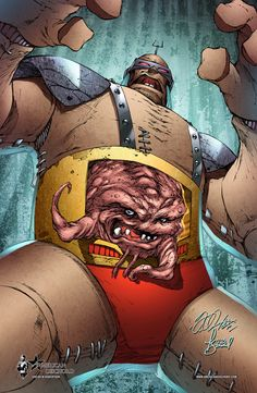 TMNT - Krang by Shelby Robertson *