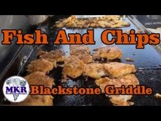 Fish And Chips On A Pro Series Blackstone Griddle Blackstone Griddle, Beer Battered Fish, O Fish, Fish And Chips, Griddles, Best Beer, Bbq Grill, Kitchen Recipes, Grilling Recipes