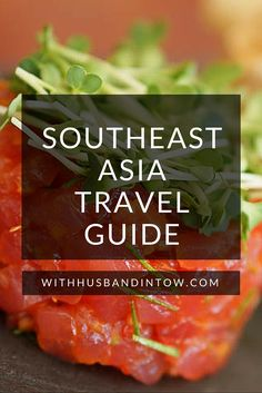 Our Southeast Asia Travel Guide, includes food travel tips on Vietnam, Bangkok, Bali, and More: http://www.withhusbandintow.com/southeast-asia-food-guide/