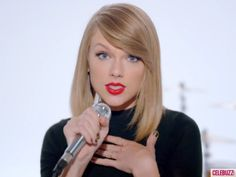 taylor swift shake it off - Google Search love her hair!!!