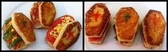 Tris di #Sandwich per #Halloween - Coffin Sandwhices #fingerFood #snack #recipe