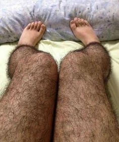 'Anti-pervert' hairy stockings could be a summer hit