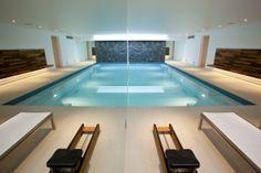 LAB Architects designed pool below garden