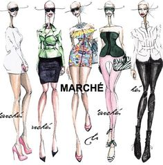 Fashion Illustration by marche