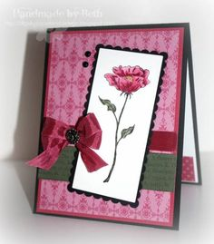IC309, Rose Red Flower... by bigsky - Cards and Paper Crafts at Splitcoaststampers