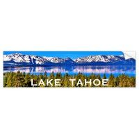 LAKE TAHOE BUMPER STICKER