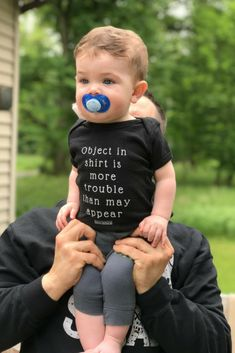 Baby Boy Grandma Rocks My World Outfit 0 3 6 9 Month Infant Clothes