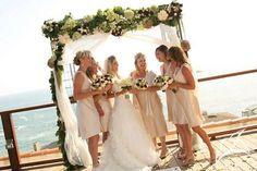 beach bridesmaid dress
