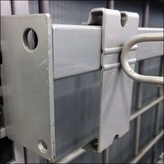 Dual-Use GridWall Bar Hook for iTunes – Fixtures Close Up Slat Wall, Trays, Itunes, Hooks, Grid, Retail, Apple, Bar, Chalkboard Walls