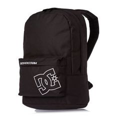 DC Mens Bunker Solid Backpack Black One Size * Click image for more details. Dc Backpack, Black Backpack, Men's Backpacks, Bunker, Backpacker, Stuff To Buy, Free Uk, Shopping, Vacation Ideas