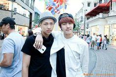 Rap Monster & Jin