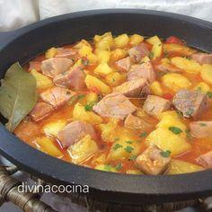 Marmitako de Bonito Fish Recipes, Meat Recipes, Cooking Recipes, Healthy Recipes, Savoury Recipes, Peruvian Recipes, Small Meals, Savoury Dishes, Everyday Food