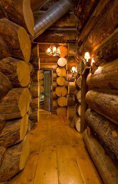 Magnum Opus: A Rustic Log Home in New York - LogHome.com - LogHome.com