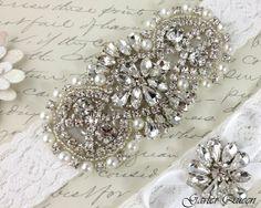 Garter Wedding garter set Bridal Garter set Off by GarterQueen, $50.00