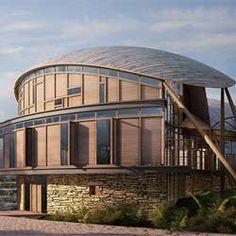 Le cabinet d'architecture Jubb Reid Brown a conçu une maison avant-gardiste à Northumberland - en Angleterre.